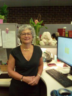 Nursing Research Librarian Val Banfi