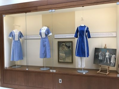 UConn School of Nursing Student Uniforms, 1940s-1970s