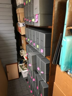Dolan Collection Archives Storage Room